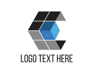 Pixel - Tech Cube logo design