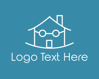 House - Swing House logo design