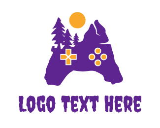 Purple Creepy Controller Logo