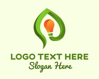 Environmentally Friendly - Green Idea logo design