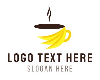 Banana - Banana Coffee logo design