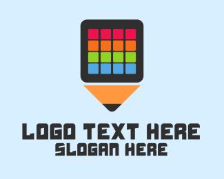 Application - Art  Application logo design
