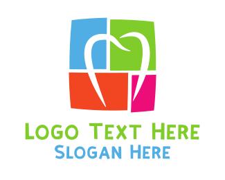 Puzzle - Dental Puzzle logo design
