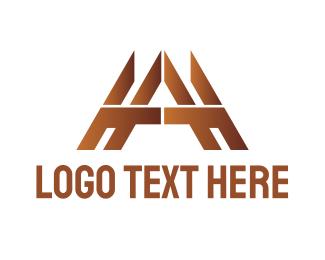 Woodwork - Gold Tech A logo design