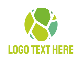 Ceramic - Green Tiles logo design