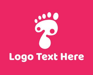 Daycare - Foot logo design