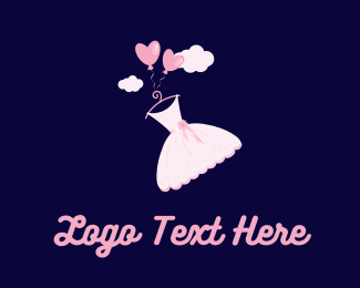 Dress - Pink Dress  logo design