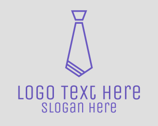 Accountant - Stylish Tie logo design