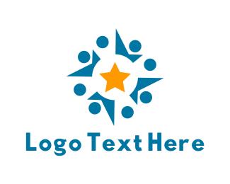 Religion - Star Community logo design