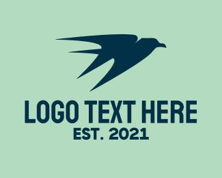 Move - Golden Sparrow logo design