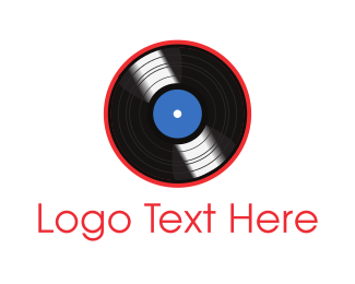 Disc - Vinyl Record logo design