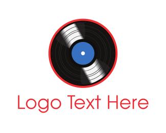 Vinyl - Vinyl Record logo design