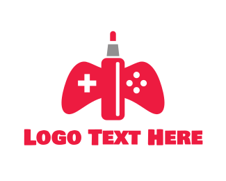 Console - Red Vape Gaming logo design