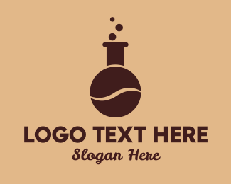 Laboratory - Coffee Bean Laboratory logo design