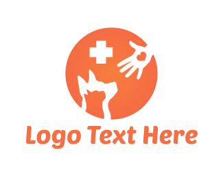 Kitten - Pet Hospital logo design
