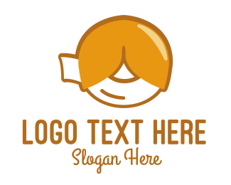 Cookie - Fortune Cookie logo design