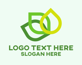 Plant - Green Leaves  logo design