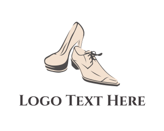 Leather - Elegant Footwear logo design