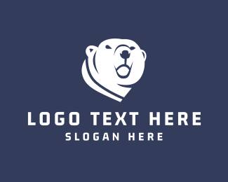 Winter - Polar Bear logo design