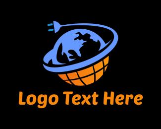 Electrical - Electric World logo design