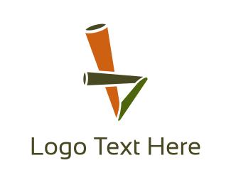 Straw - Eco Straw logo design
