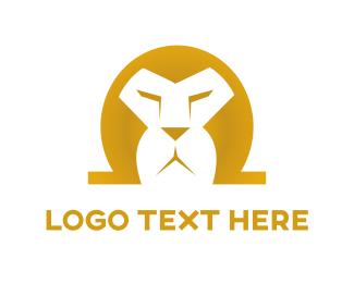 Fierce - Omega Lion logo design
