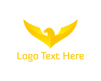 American Eagle - Gold Eagle logo design