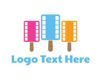 Lolly - Popsicle Reel logo design
