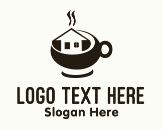 Airbnb - Coffee House  logo design