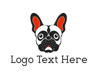 Breed - French Bulldog logo design