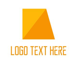 Kite - Golden Diamond logo design