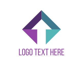 Lift - Diamond Arrow logo design