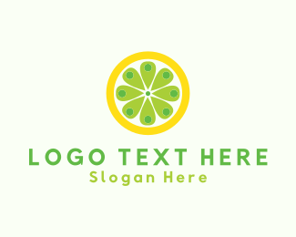 Citric - Lemon Place logo design