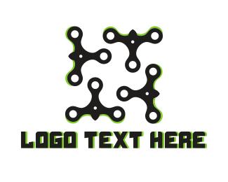 High Tech - Stream Bird logo design