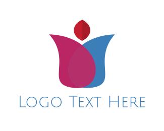 Tulip - Tulip Bud logo design