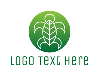 """""""Sea Turtle Leaf"""" by eightyLOGOS"""