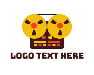 Band - Vintage Recorder logo design