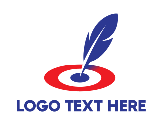Contract - Feather Target logo design