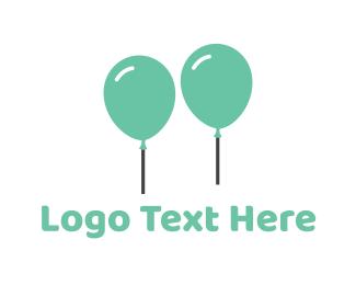 Duo - Mint Balloons logo design
