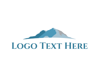 Outdoor - Blue Mountain  logo design