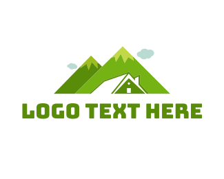 Hiking - Mountain House logo design