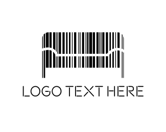 Living Room - Couch Code logo design