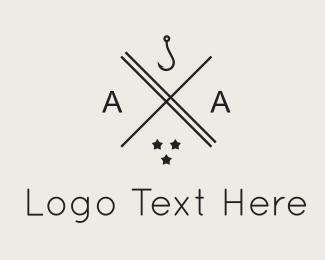 Hook - Hook & Stars logo design