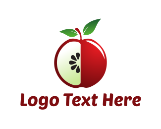 Detox - Red Apple logo design