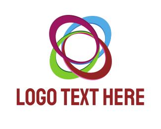 Ellipse - Colorful Ellipses  logo design
