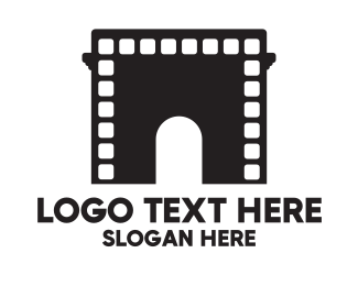 Show - Arch Movies  logo design