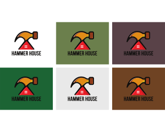 Tool Shed - Hammer House logo design