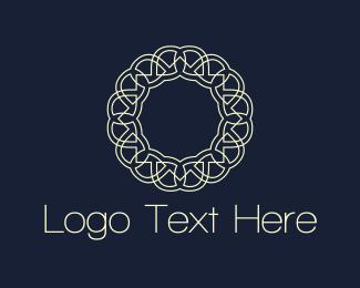 Decor - Floral Circle logo design