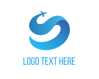 Tour - Blue Jet logo design