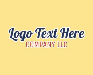 Text Logo Maker | Create Your Own Text Logo | BrandCrowd